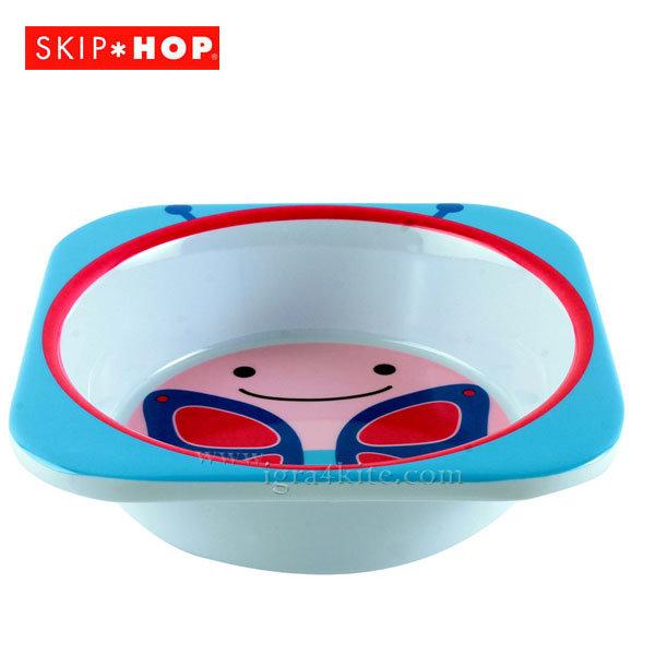 Skip Hop - Детска купичка за храна Zoo Пеперудката Блосъм 252121