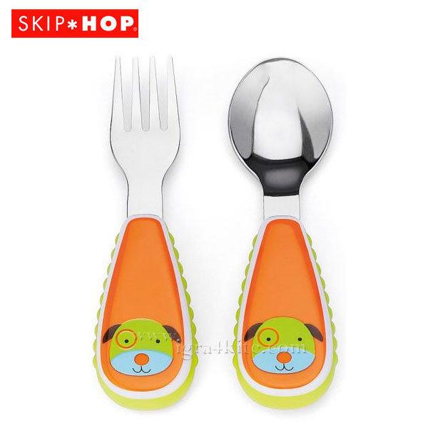 Skip Hop - Комплект виличка и лъжичка Zoo Кучето Дарби 252350