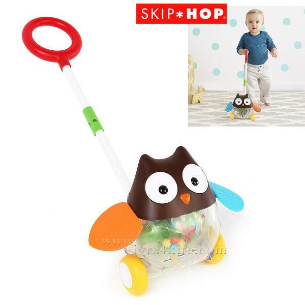 Skip Hop - Детска играчка за бутане Бухалче 303103