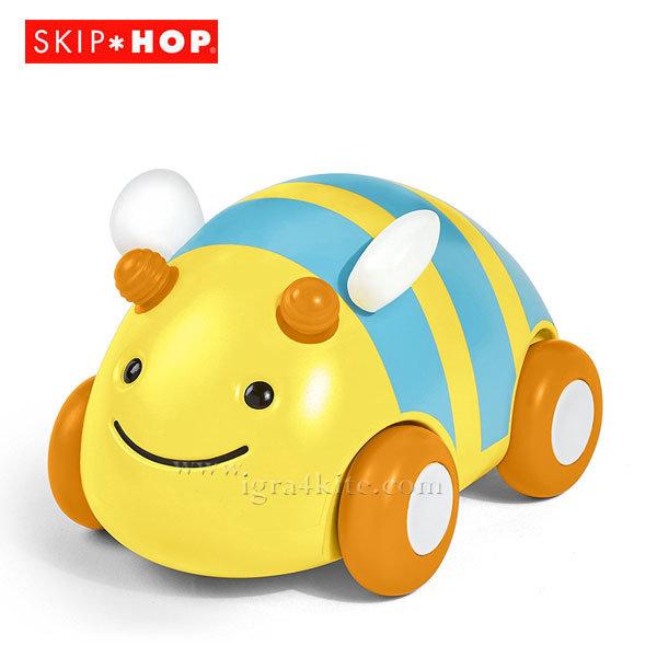 Skip Hop - Детска количка Пчеличка Pull&Go 303105