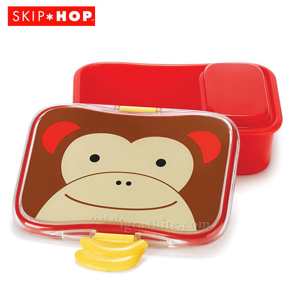 Skip Hop - Кутия за храна Маймунката Маршал 252476