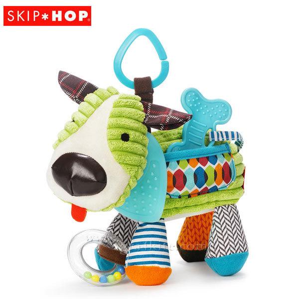 Skip Hop Бебешка дрънкалка чесалка за зъбки Кученце 306204