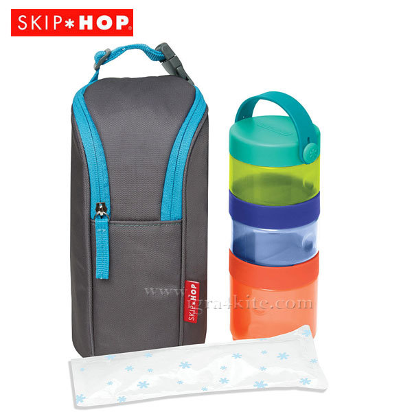 Skip Hop - Комплект конетйнери за храна в чанта 252800