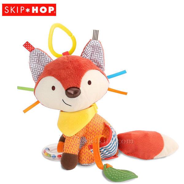 Skip Hop Бебешка дрънкалка чесалка за зъбки Лисица 306206