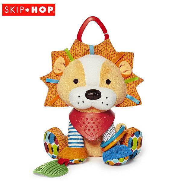 Skip Hop Бебешка дрънкалка чесалка за зъбки Лъв 306207