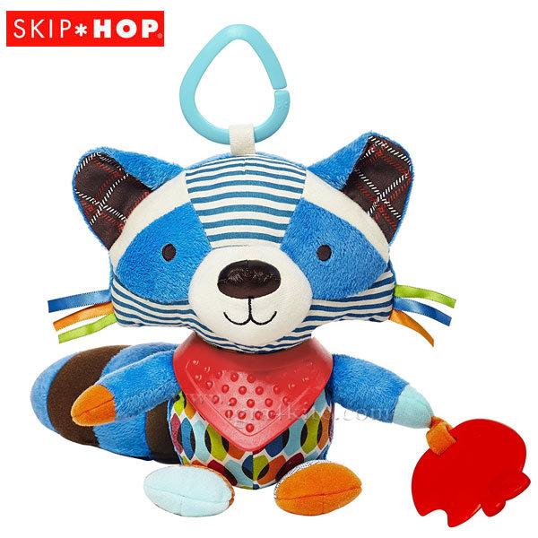 Skip Hop Бебешка дрънкалка чесалка за зъбки Енот 306209