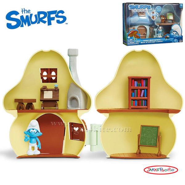 The Smurfs - Къщата на Смърфа Брейни с фигура 96570
