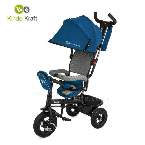 Kinderkraft - Детска триколка Swift синя 99207