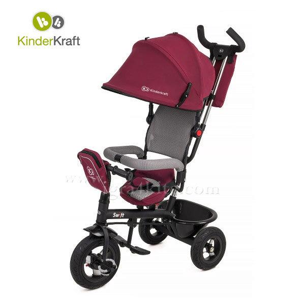 Kinderkraft - Детска триколка Swift червена 99208