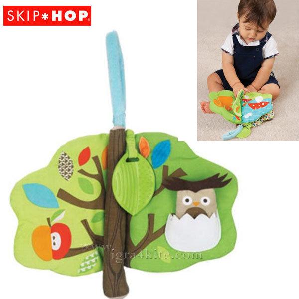 Skip Hop - Мека интерактивна книжка Дърво с гризалка 307501