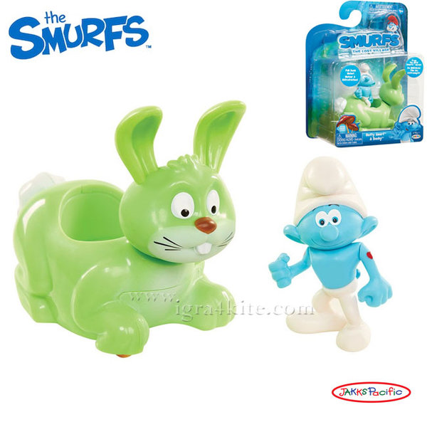 The Smurfs - Комплект фигурка Смърф с превозно средство 30872