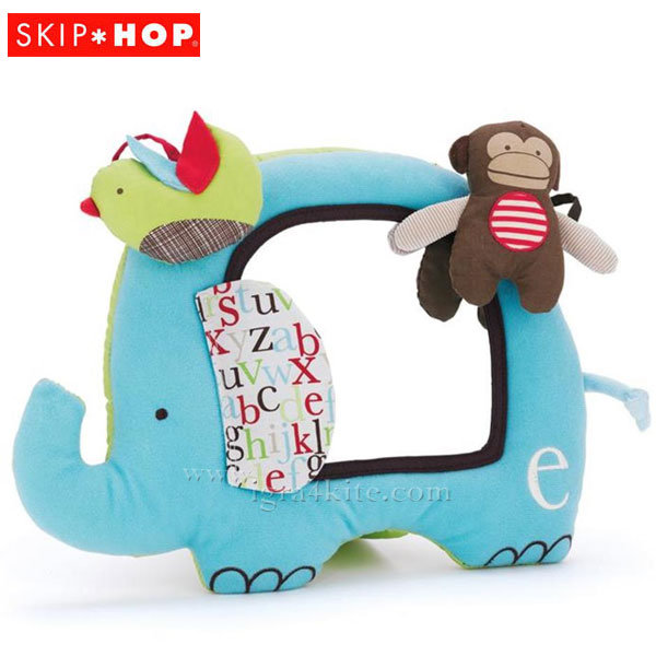 Skip Hop - Плюшено огледало с играчки Слонче 307302
