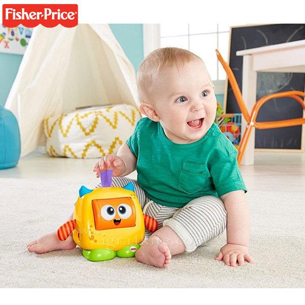 Fisher Price - Забавна играчка Чудовище с емоции DRG13