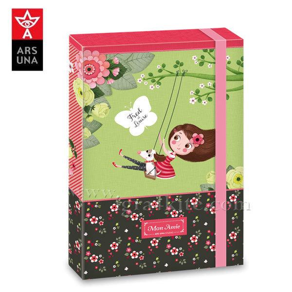 Ars Una - Mon Amie 2017 Кутия с ластик А4 Ars Una 90857980