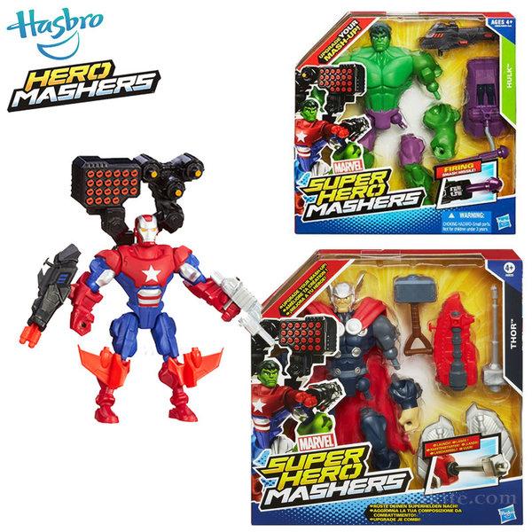 Marvel Avengers - Super Hero Mashers Игрален комплект с фигурка a6833