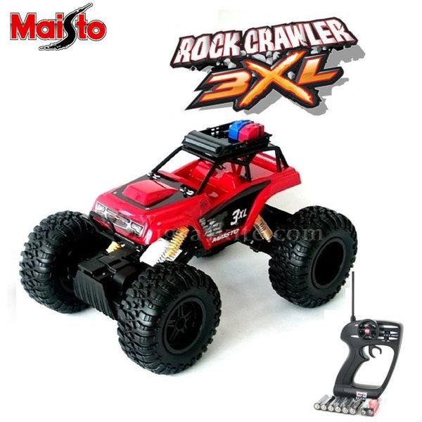 Maisto Tech - Джип Rock Crawler 3XL с дистанционно управление 81157