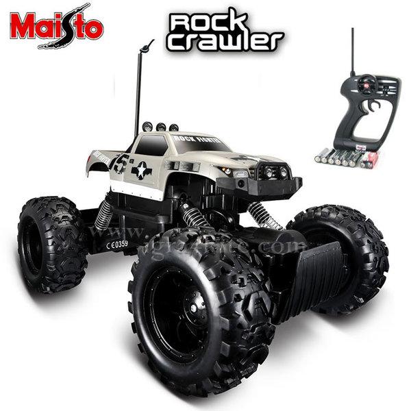 Maisto Tech - Джип Rock Crawler с дистанционно управление сив 81152