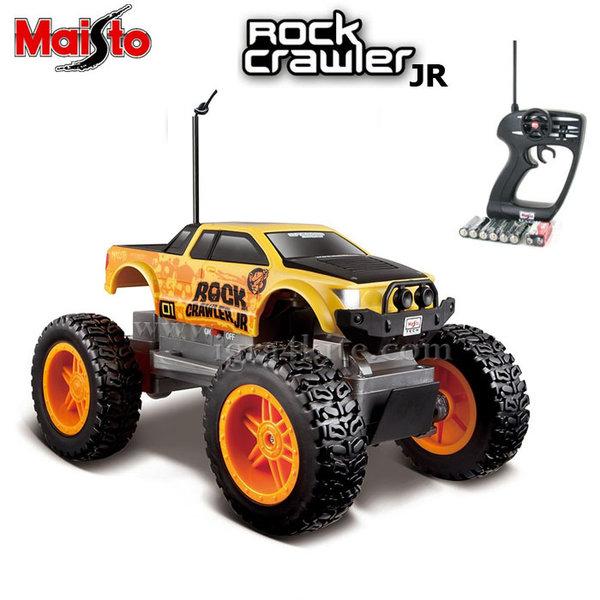 Maisto Tech - Джип Rock Crawler Junior с дистанционно управление жълт 81162