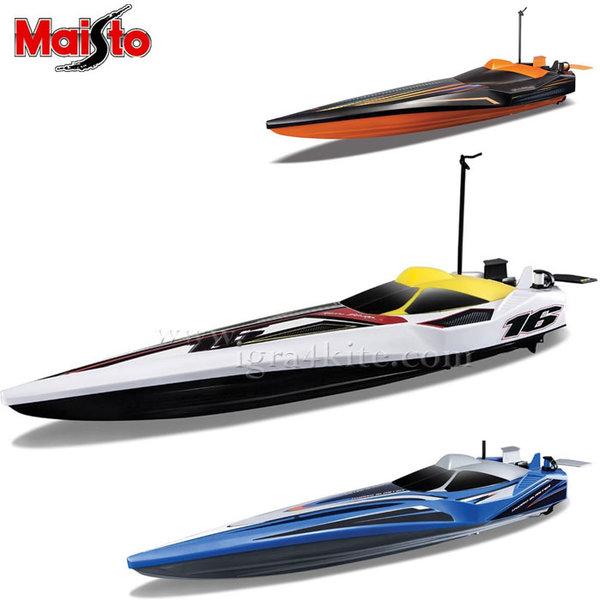 Maisto Tech - Лодка с дистанционно управление HYDRO BLASTER SPEED BOAT Х6 81322