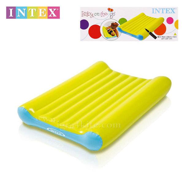 Intex - Надуваема подложка за повиване на бебе 48422