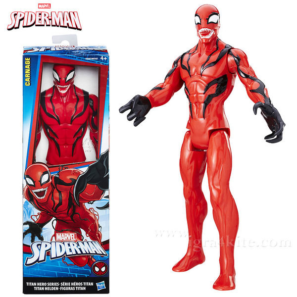 Hasbro - Spider Man Екшън фигура 30см Carnage b9707