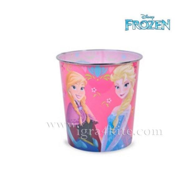 Disney Frozen - Пластмасово боклукчийско кошче Замръзналото кралство