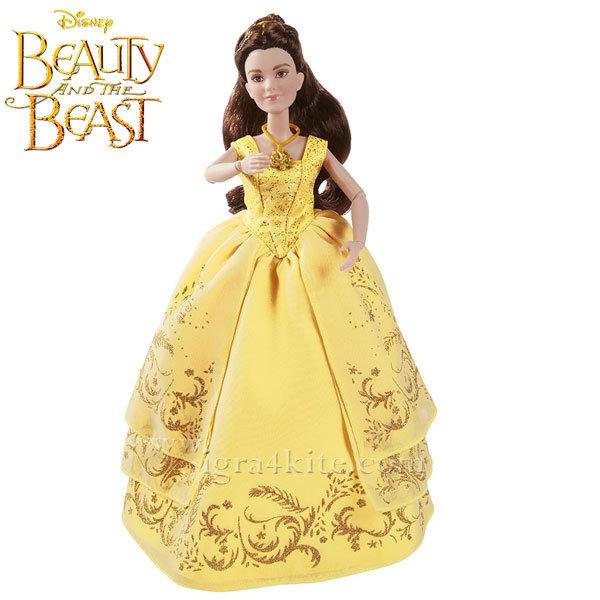 Disney Princess - Красавицата и звяра Кукла Бел с бална рокля B9166
