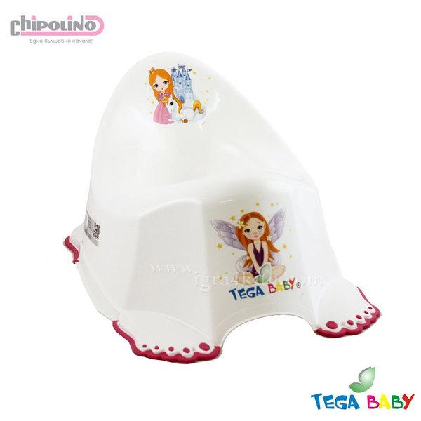 Chipolino - Бебешко анатомично гърне Принцеса бяло
