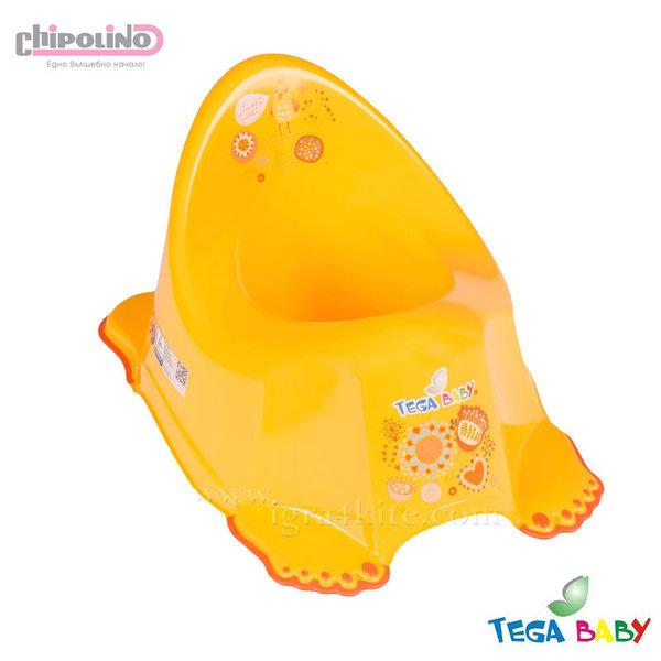 Chipolino - Бебешко анатомично гърне Фолк жълто