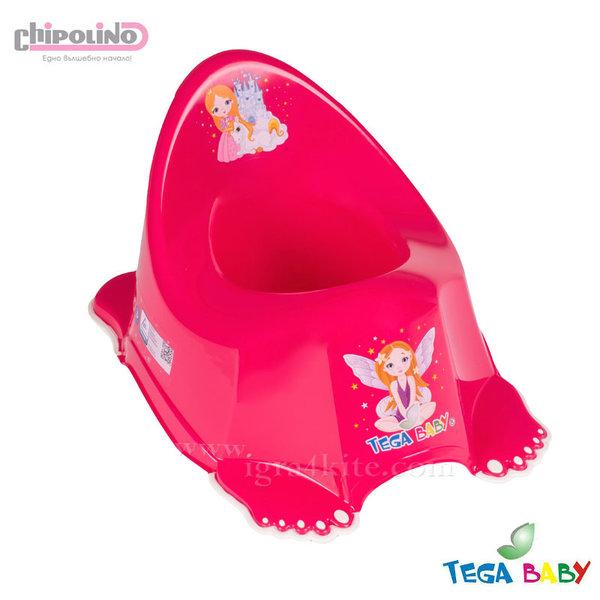 Chipolino - Бебешко анатомично музикално гърне Принцеса розово