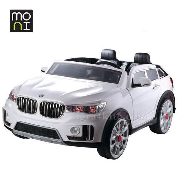Moni - Детски акумулаторен джип с дистанционно управление Impress A998 EVA бял 103842