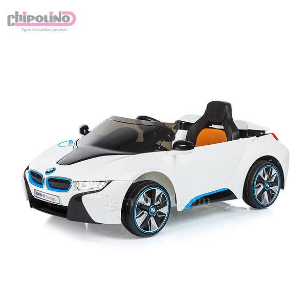 Chipolino - Акумулаторна кола BMW I8 Concept с дистанционно и MP3 бяла