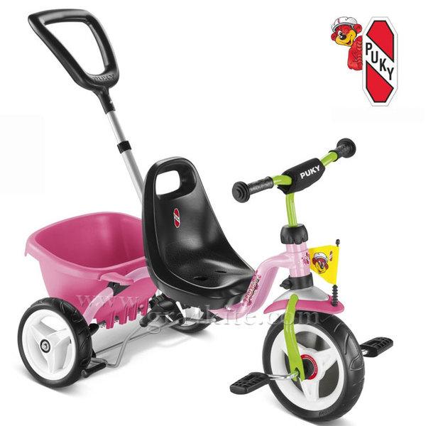 Puky - Колело триколка Cat 1 S Pink/Kiwi 2225