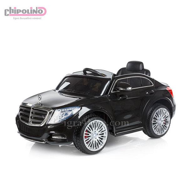 Chipolino - Акумулаторна кола Mercedes Benz S Class с дистанционно черна