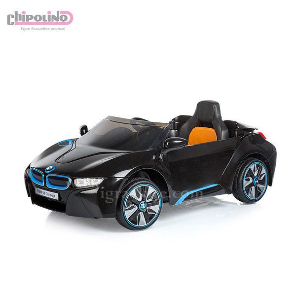 Chipolino - Акумулаторна кола BMW I8 Concept с дистанционно и MP3 черна