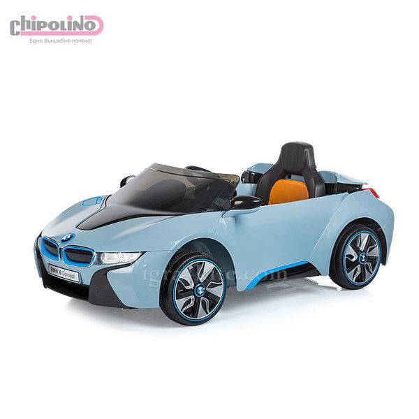 Chipolino - Акумулаторна кола BMW I8 Concept с дистанционно и MP3 синя