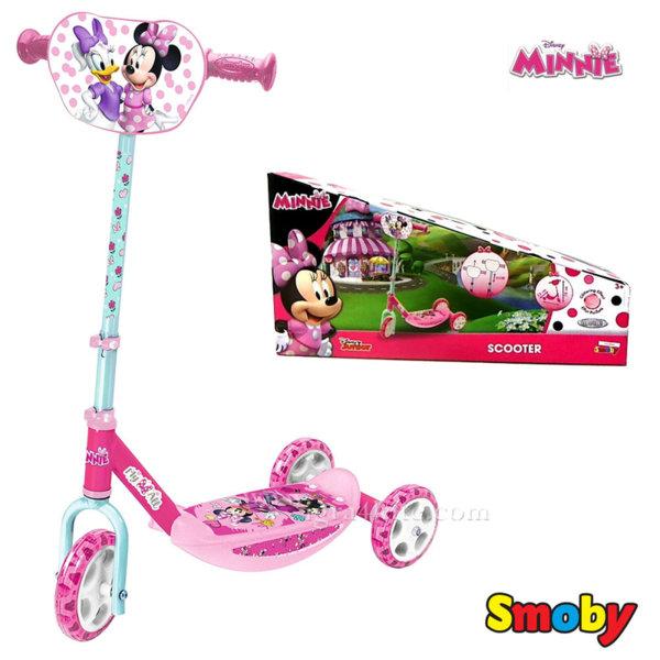 Smoby - Детска тротинетка с 3 колела Minnie Mouse 750167