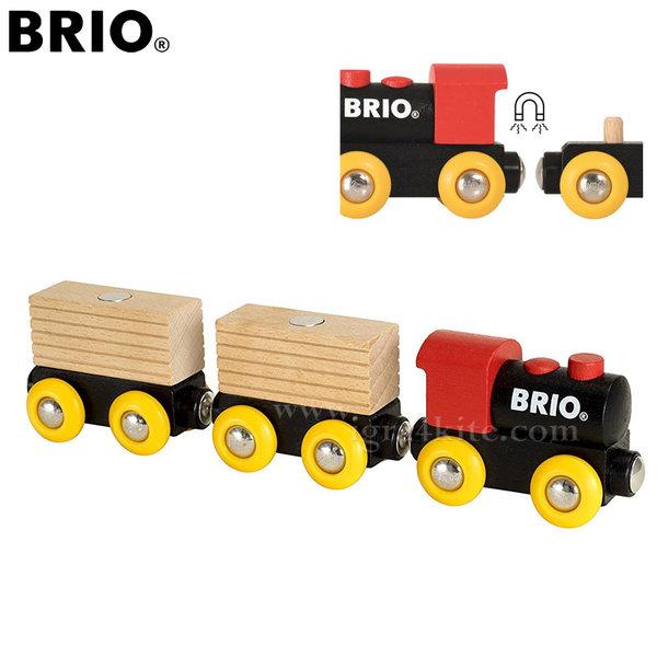 Brio - Дървено влакче Classic 33409