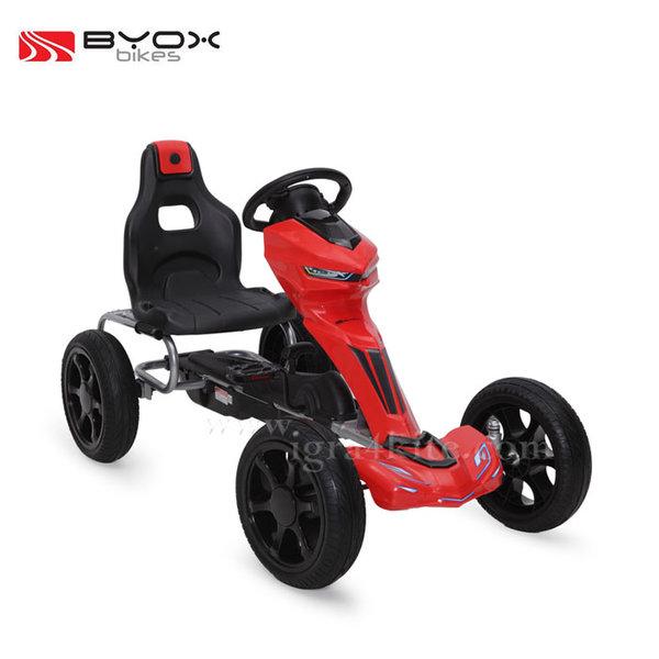 Byox Bikes - Детска картинг кола 1502 червена 103553