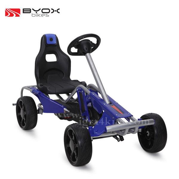 Byox Bikes - Детска картинг кола 1503 синя 103555