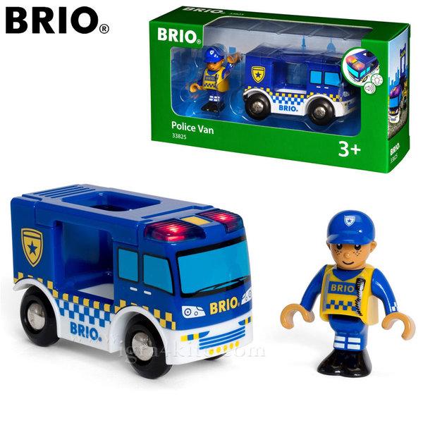 Brio - Полицейски ван със звук и светлина 33825
