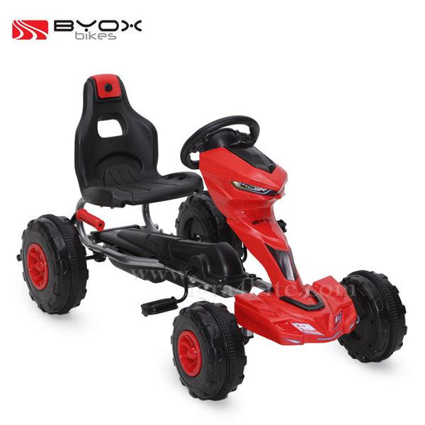 Byox Bikes - Детска картинг кола Rush 1501 червена 103551