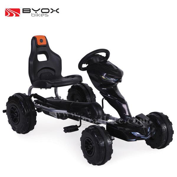 Byox Bikes - Детска картинг кола Rush 1501 черна 103862