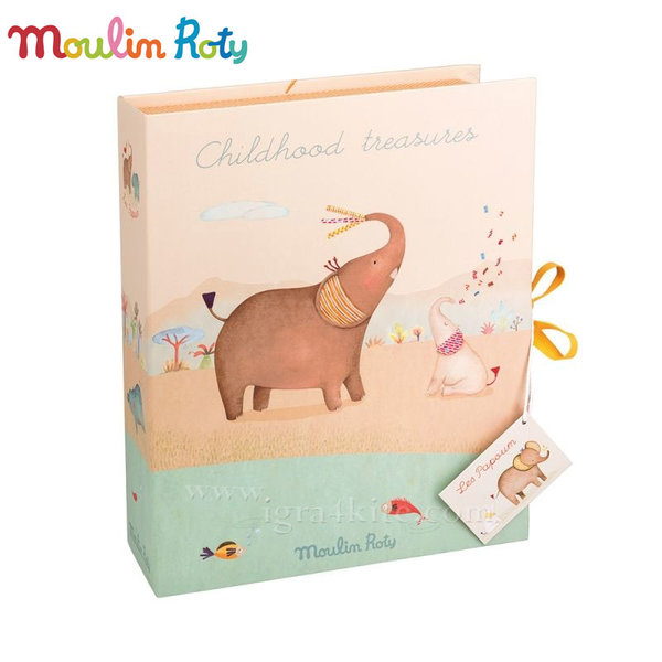 Moulin Roty - Кутия за съхранение на бебешки спомени 658108