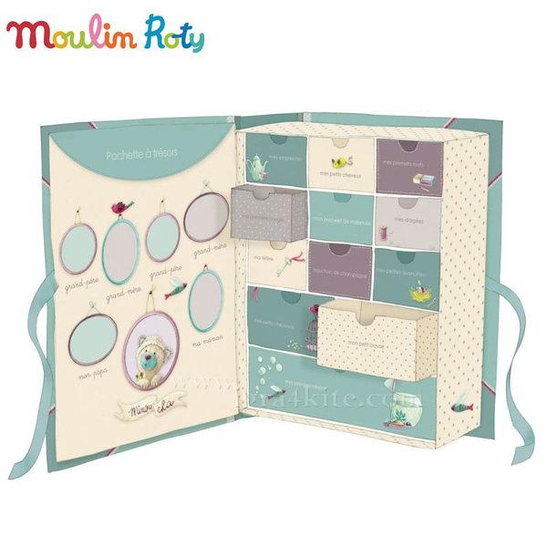 Moulin Roty - Кутия за съхранение на бебешки спомени 660107