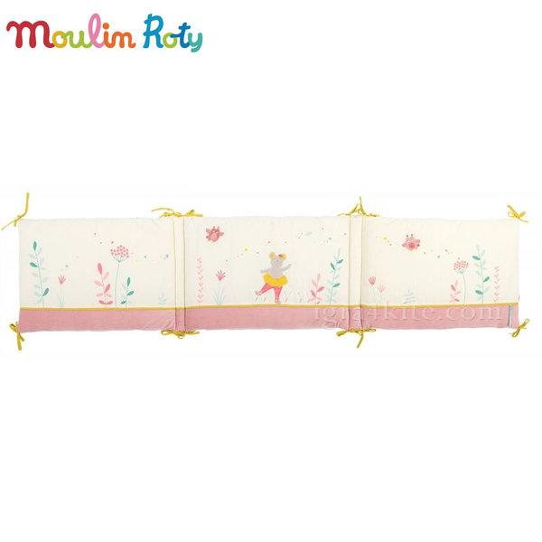 Moulin Roty - Обиколник за бебешко легло или кошара Мишлето балеринка 657098