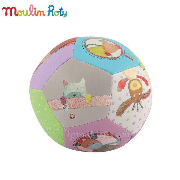 Moulin Roty - Бебешка топка Les Jolis pas Beaux 10см 629510