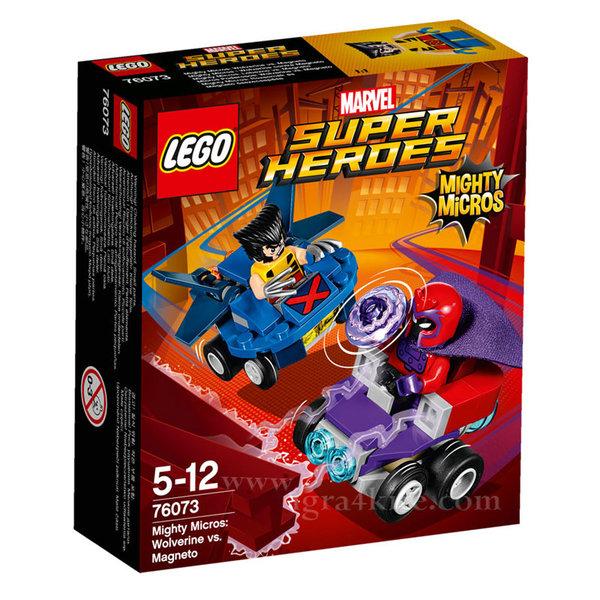Lego 76073 Super Heroes - Mighty Micros: Върколака срещу Магнито