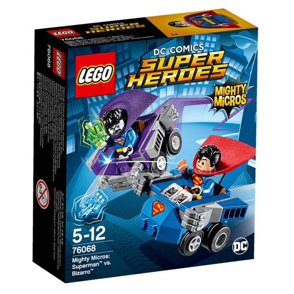Lego 76068 Super Heroes - Mighty Micros: Супермен срещу Бизаро
