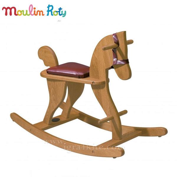 Moulin Roty - Дървено конче-люлка 720240